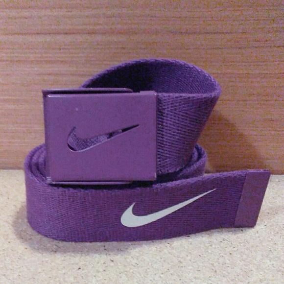 89928f5da5 Nike Accessories | Golf Tech Essentials Single Web Purple Belt ...